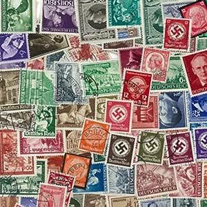 Colección de Sellos de Alemania obliterados anteriores a 1945 (200 ...