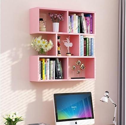 Amazon.com: wall bookshelves Wall Shelf Restaurant Hanging Cabinet ...