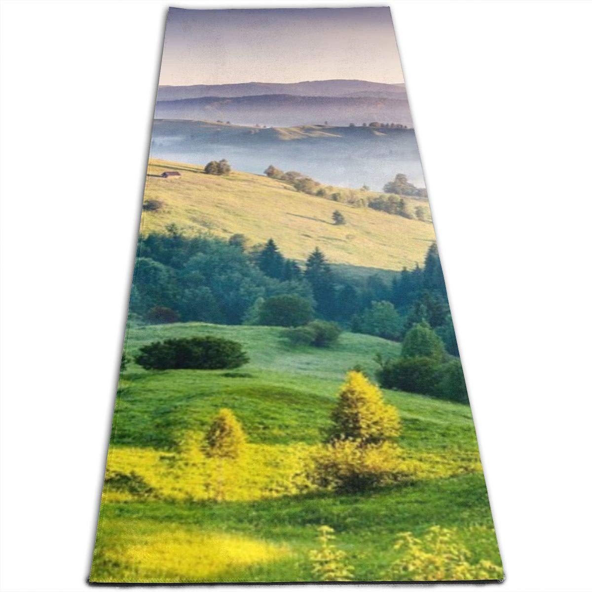 Amazon.com: Hills India Nature Yoga Design Foldable Exercise ...