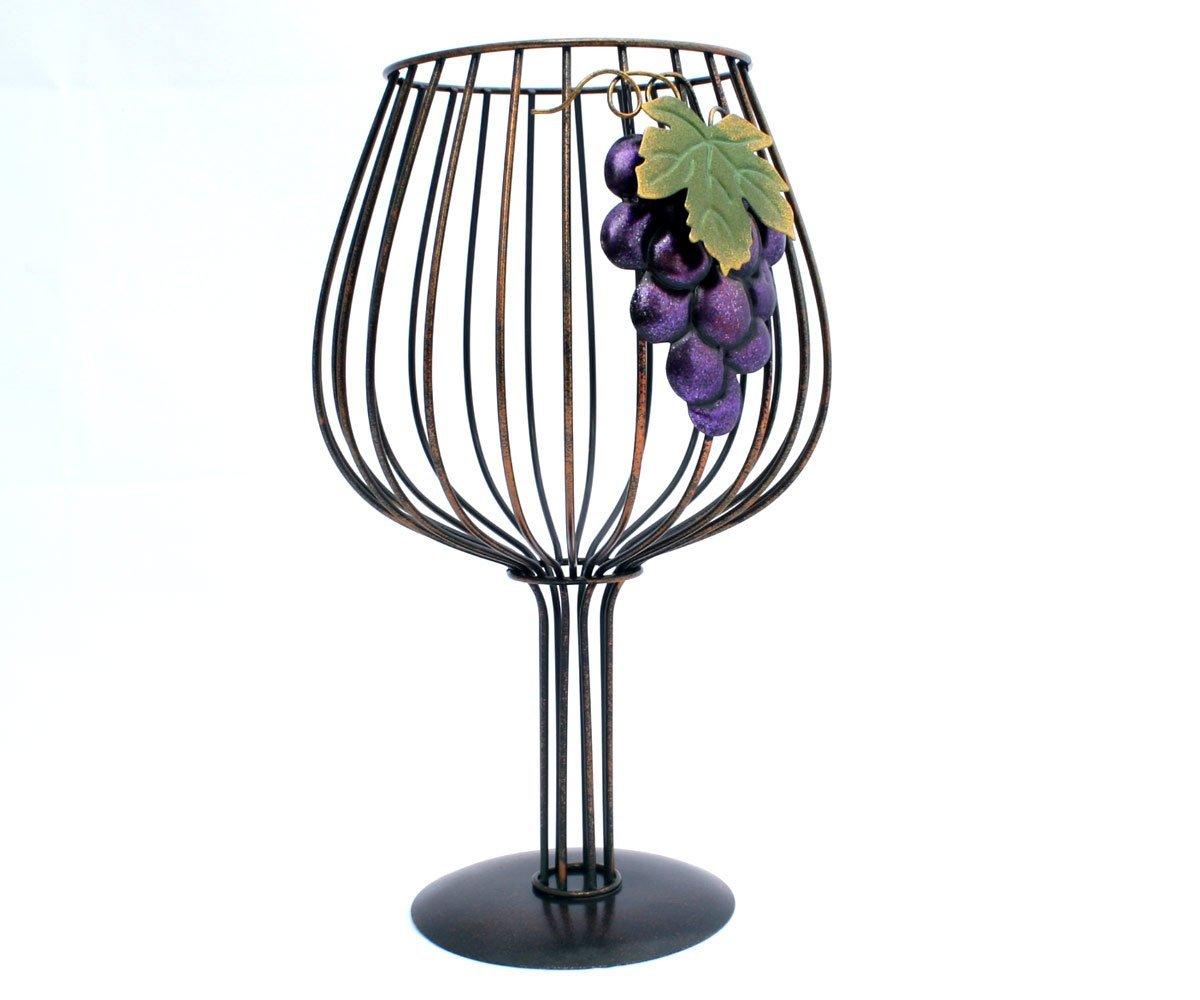 Big Wine Glass Cork Holder for Wine Lovers By Thirteen Chefs by Thirteen Chefs