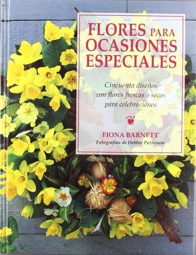 Descargar Libro Flores Para Ocasiones Especiales Fiona Barnett