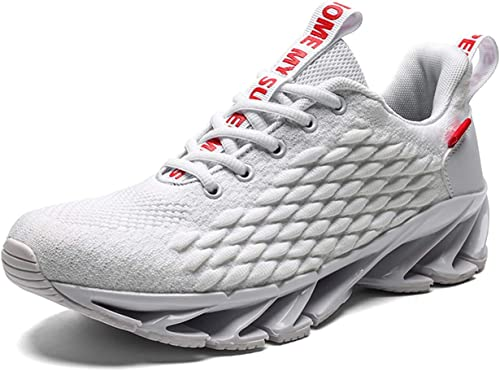TSIODFO Men Sport Running Sneakers Athletic Walking Shoes