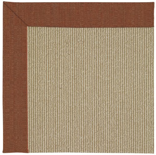 Capel Rugs Sisal Rug (Capel Rugs Zoe-Sisal Rectangle Machine Tufted Area Rug, 2 x 3', Dried Chilies)