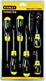 Stanley 0-65-009 Cushion Grip Screwdriver 6 Piece Set With Voltage Tester