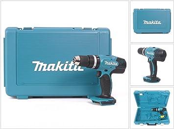 Makita DHP 453 ZK 18 V Li-ion taladro inalámbrico incluido caja de ...