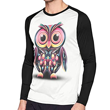 4e5bb7046fc Trend Coordinate Cute Owl Long-sleeve Tee Shirts Casual Long Sleeve T Shirt  Men Women at Amazon Men s Clothing store
