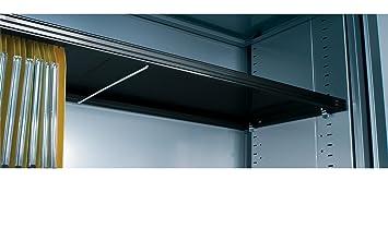 Vinco tablette supplémentaire atbs10 armoire rideau l 100 cm noir