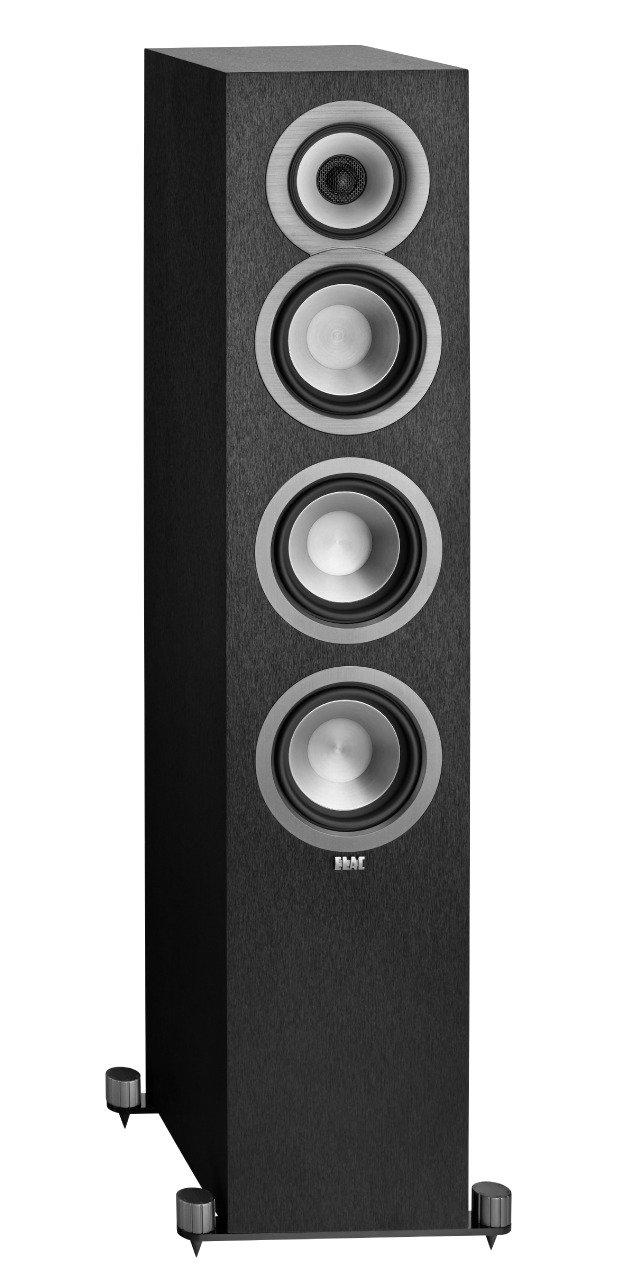 Elac Uni Fi Uf5 Floorstanding Speaker Black Single Klipsch Headphone Wiring Diagram Home Audio Theater