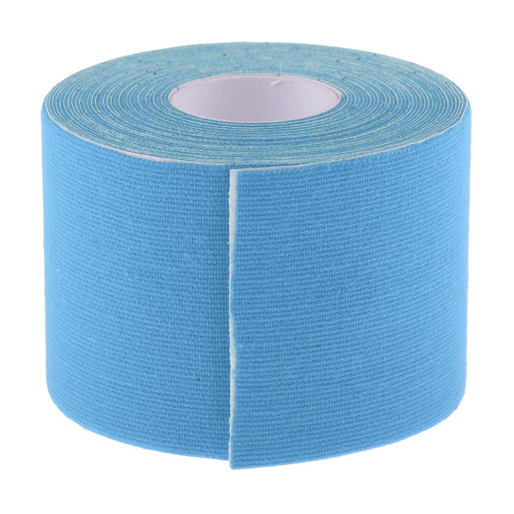 Baoblaze Durable Sports Kinesiology Tape Adhesive Physical Gear Equipment for Muscle Joint Protection with Strong Adhesiveness Uncut Roll 5m//16.4ft