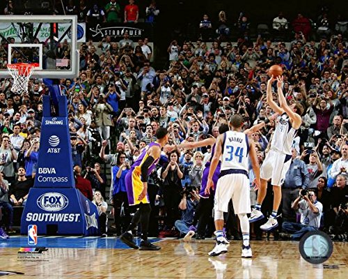 Dirk Nowitzki Dallas Mavericks 30,000th NBA Point Action Photo (Size: 8'' x 10'') by NBA