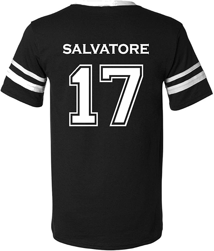 Amazon Com The Creating Studio Salvatore 17 Camiseta De 2 Caras Para Adulto S Clothing