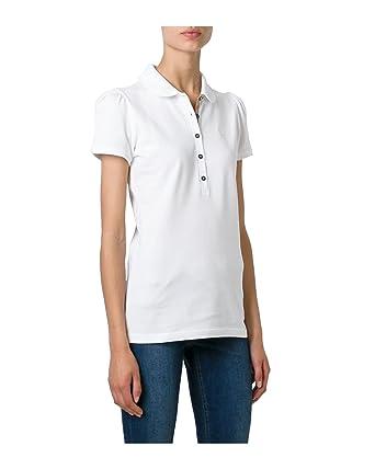 398bdc464ca6 BURBERRY - Polo pour Femme YSM70254 - blanc, XL  Amazon.fr ...