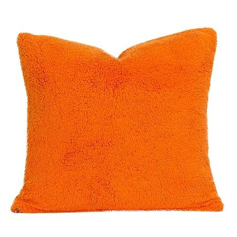 Amazon.com: 1 Piece Novelty Style Oversized Orange Throw ...