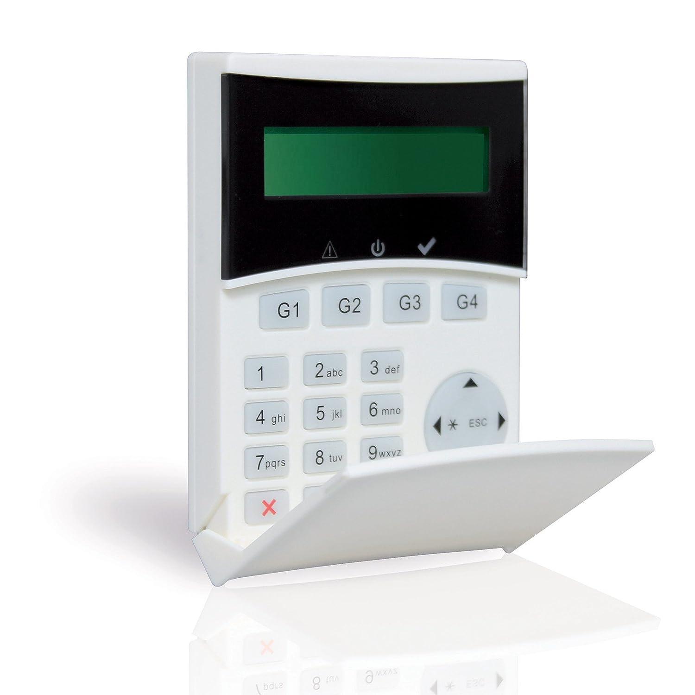 Teclado remota retroiluninadas pantalla para alarma ...