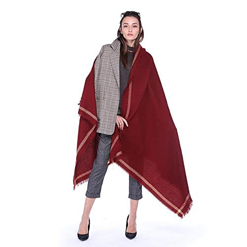 Le sciarpe delle nappe delle sciarpe di aria calda di stampa etnica dell'annata della sciarpa di colore solido di temperamento di nuovo temperamento di modo , 1