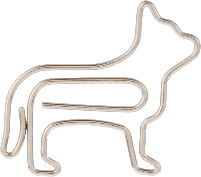 Clip da 12 pezzi Clip a forma di gatto Graffetta a forma di gatto Clip segnalibro a forma speciale Clip di carta addensata multifunzione elegante ed elegante 3x2cm