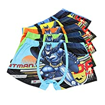 X Shop Little Boy's Super Hero Boxer Briefs (Pack of 5)