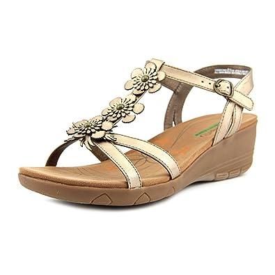 732a9db9c6a Image Unavailable. Image not available for. Color  BareTraps Hammond Women  US 5 Bronze Wedge Sandal