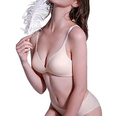 41ac70e153 Micah Women s Wirefree Bra Comfy Support Lightly Lined Everyday T-Shirt Bra  (34B