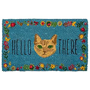 Hello There Cat Mat
