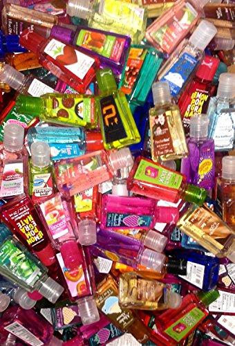 Ванна и Body Works Pocketbac Grab Bag Bundle Набор (18) антибактериальный гели для рук и (1) Pocketbac владельцев