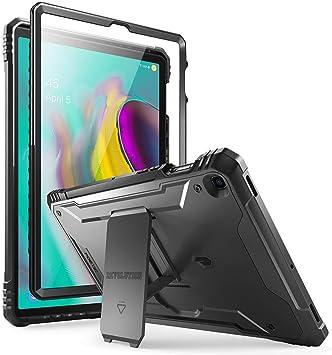 POETIC Galaxy Tab S5E Funda, Estuche Protector Robusto Revolutión con Fuerte Protección Híbrida para Trabajo Pesado y Protector de Pantalla Incorporado Funda para Galaxy Tab S5E, Negro: Amazon.es: Electrónica