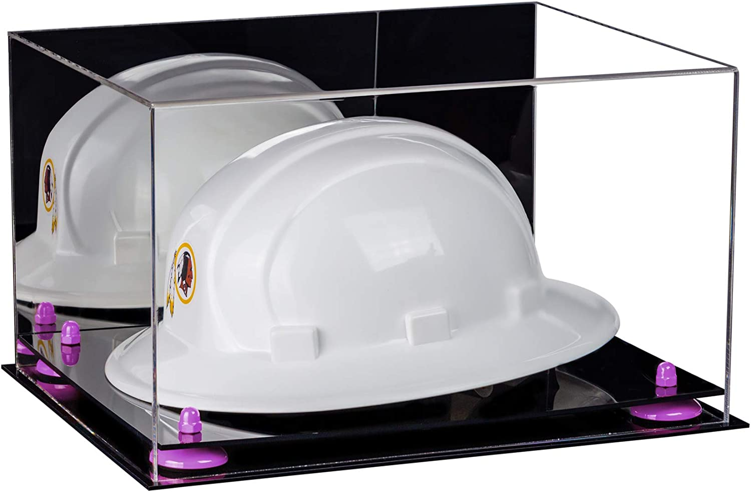 Hard Hat Display Case Better Display Cases Clear Acrylic Large Helmet