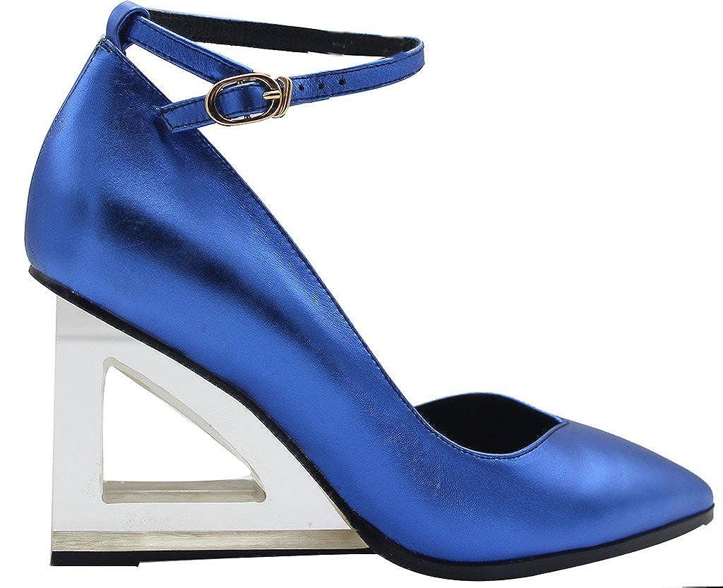Calaier  Estdfo, blau Damen Pumps, blau Estdfo, - blau - Größe: EU 45 - f8e2db