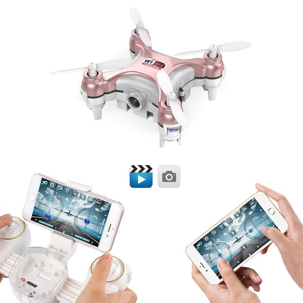 GoolRC Cheerson CX WD TX Drone Mini con Cámara MP Wifi FPV