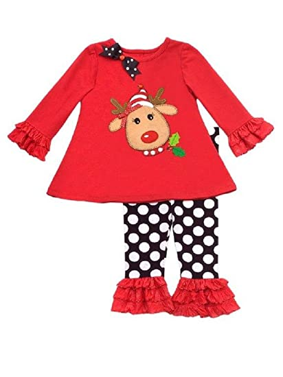 Rare Editions Baby Girl First Christmas Reindeer Outfit (3m-9m) (3- - Amazon.com: Rare Editions Baby Girl First Christmas Reindeer Outfit