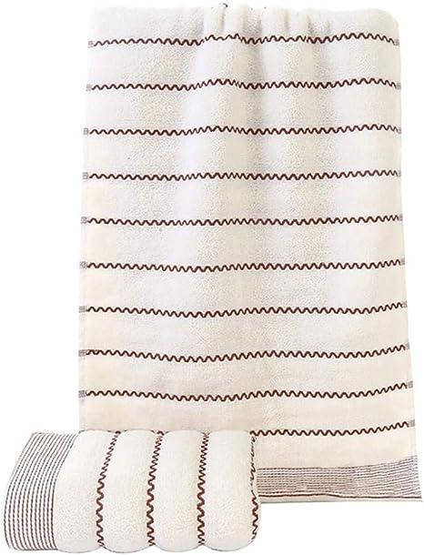 ZUXIO77Js - Toalla de Ducha (algodón, 35 x 75 cm), diseño de Ondas ...