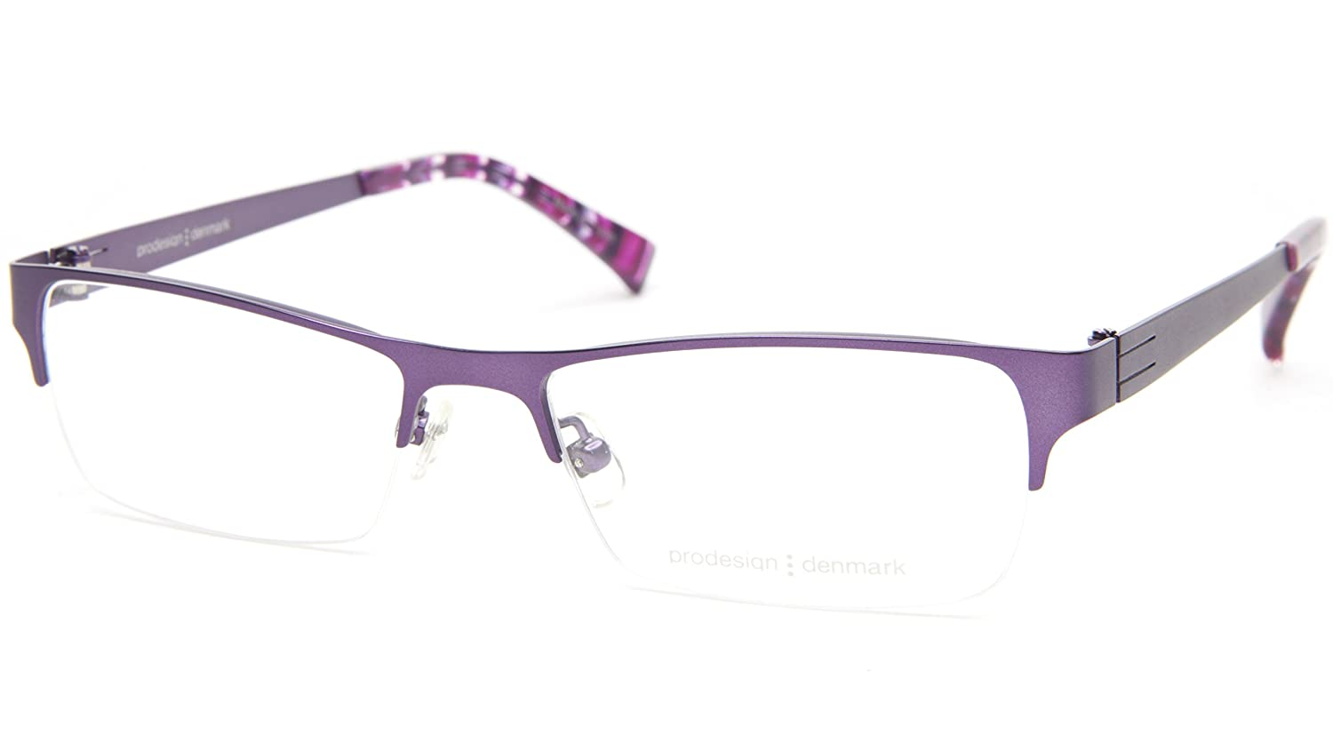eaaf16defa7 Amazon.com  NEW PRODESIGN DENMARK 1247 c.3531 VIOLET EYEGLASSES FRAME  50-16-140 IF B28 Japan  Clothing