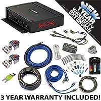 Kicker 44KXA4002 Car Audio 2 Channel Amp KXA400.2 & 4 GA Amplifier Accessory Kit - 3 Year Warranty!