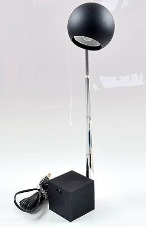Lightolier Lytegem Telescopic Black Desk Lamp