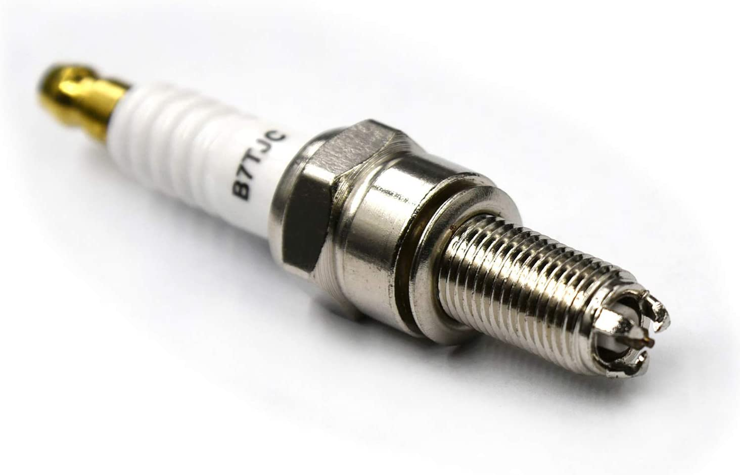 white, pack of 1 YUNTAO Spark-Plug B7TC for Suzuki CR7E CR7EIX CPR7EA-9 CPR8EA-9 CPR8EAIX-9 96067 CR8E CR8EIX IU24 IU22 UR4DC UR6DE PRG6HCC