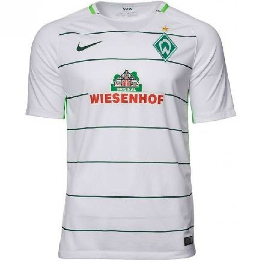 Nike 2017-2018 Werder Bremen Away Shirt (Kids)