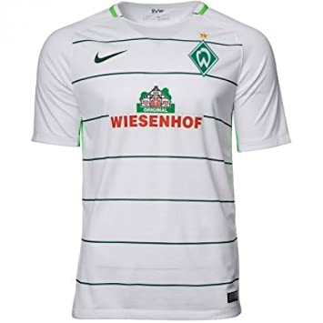 0a87e6ba2f9 2017-2018 Werder Bremen Away Nike Football Shirt  Amazon.co.uk  Sports    Outdoors