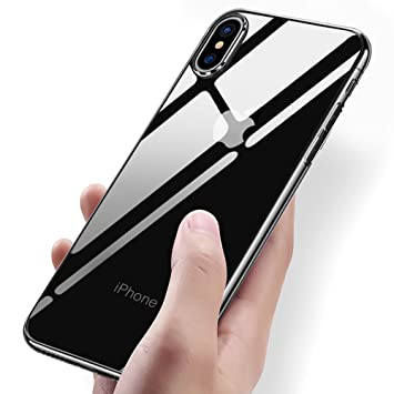 online store 11e86 56307 Coque iPhone X, Vitutech iPhone X Souple Coque Anti-rayures TPU Bumper Case  Absorption