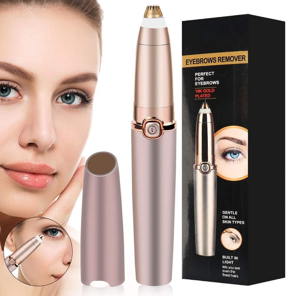 Augenbrauen Haarentferner mit LED Licht