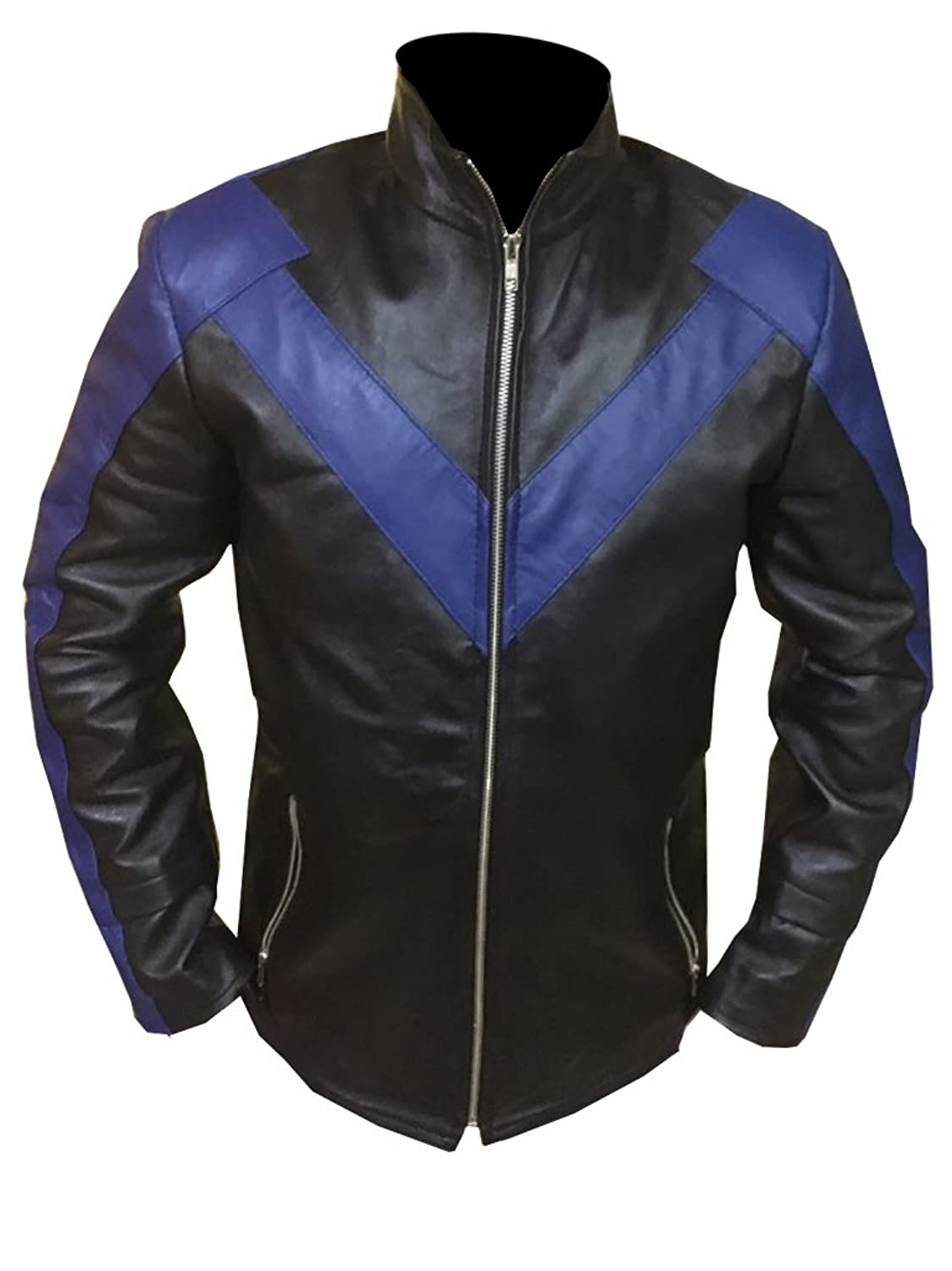 Nightwing Dick Grayson Real Leather Jacket
