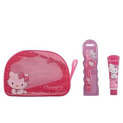 Hello Kitty Charmmy Kitty Neceser Dental Coffret Sac Amazonfr