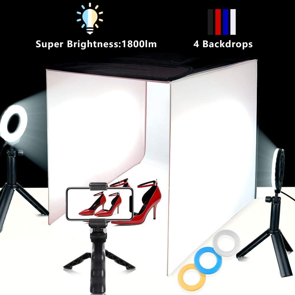 Tragbare Foto Studio Box 40 6 X 40 6 Cm Faltbare Camera Photo