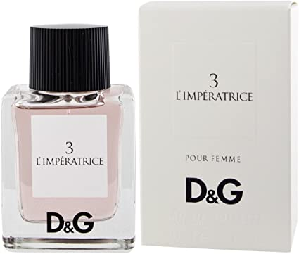 Dolce&Gabbana 3 L'imperatrice Eau De Toilette Spray, Donna, 50 ml