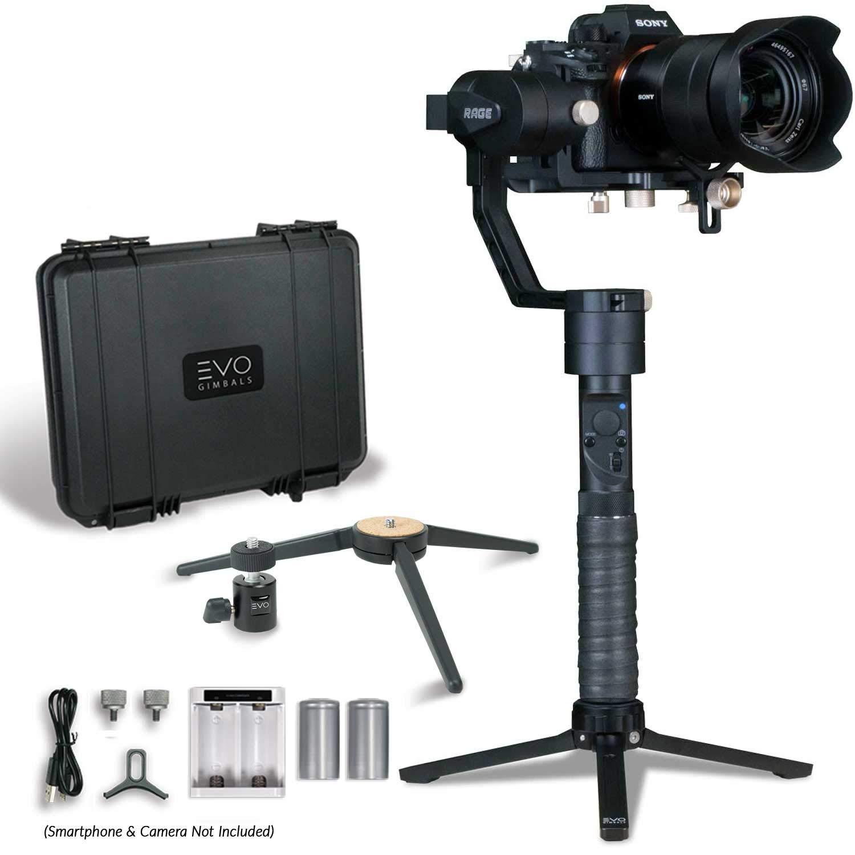 Evo Rage Gen2 3 eje cardán de mano para cámaras réflex digitales y ...