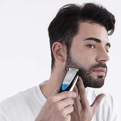 Cecotec afeitadora Bamba PrecisionCare Multigrooming Pro. Multifunción 5 en 1,waterproof, batería de litio,cuchillas de revestimiento de titanio,pantalla digital,13 ...
