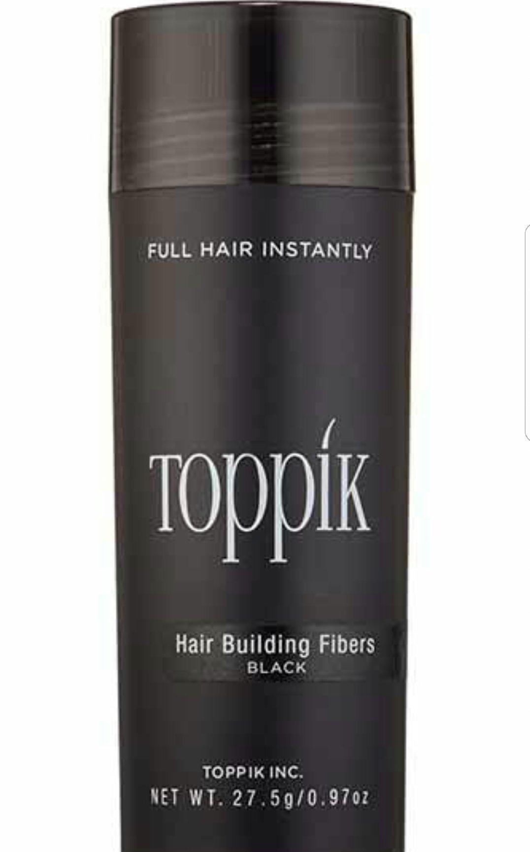 TOPPIK Hair Building Fibers, Black 27.5 g by Toppik by Toppik