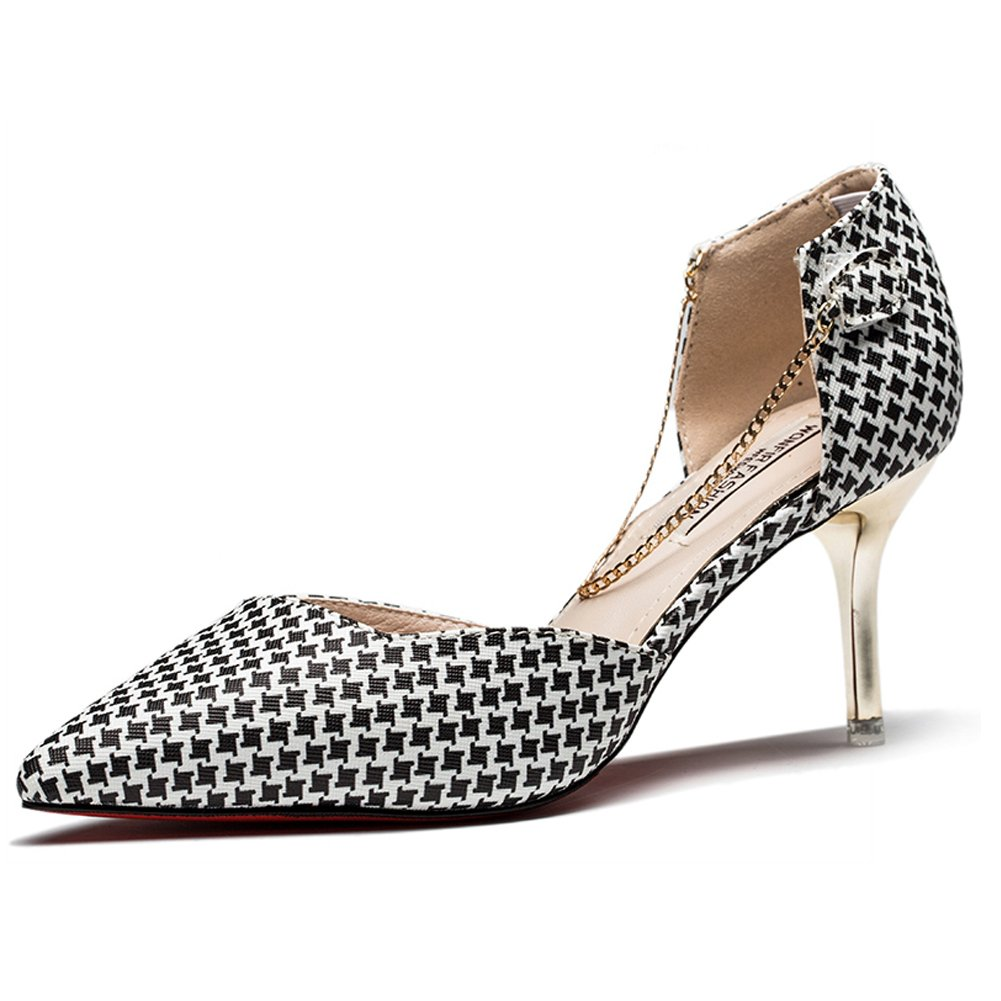 Hoxekle Women Sexy High Heels Stiletto Pumps Spring Fashion New Element Shoes