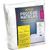 Protège matelas 160x200 cm ACHILLE - Molleton 100% coton 400 g/m2