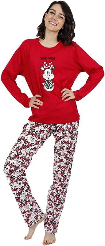 Disney - Pijama DE Mujer DE Invierno Minnie Lined