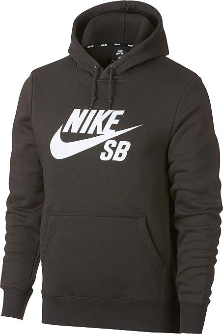 Nike Icon Essentials Sudadera con Capucha para Hombre, Hombre, AJ9733, Sequoia/White